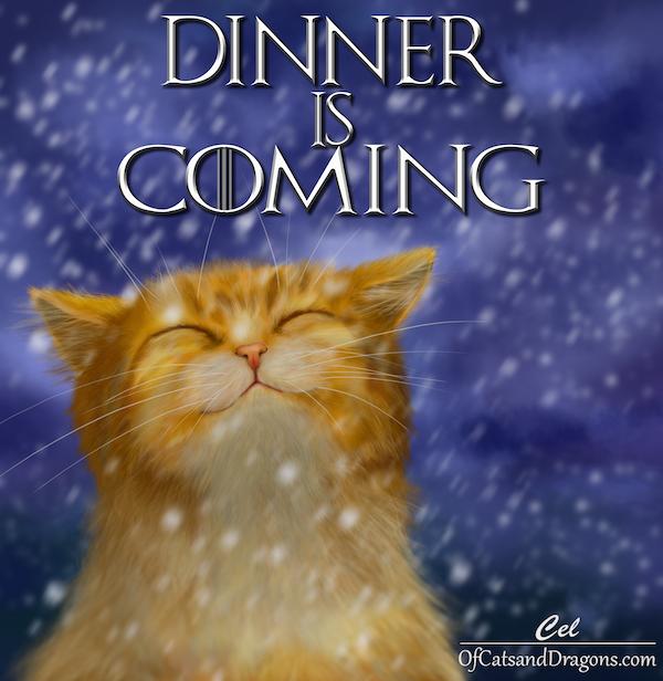 dinneriscomingFB